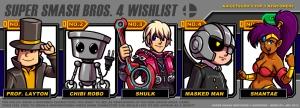 Kaigetsudo's Wishlist