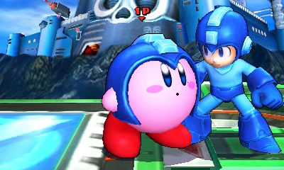 Mega Man and Kirby